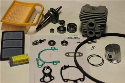 Stihl Ts420 Overhaul Rebuild Kit W Cylinder Crankshaft